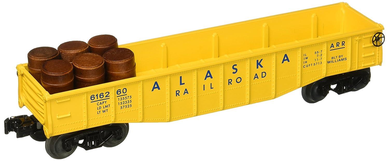 Williams By Bachmann Alaska O Scale Gondola With Barrels