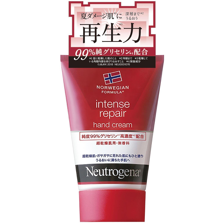 Neutrogena(ニュートロジーナ) ノルウェーフォーミュラ インテンスリペア ハンドクリーム 超乾燥肌用 無香料 50g product image