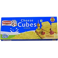 Britannia Cheese - Cubes, 200g Pack