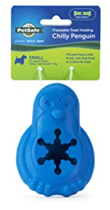 PetSafe Chilly Penguin Treat Holding Dog Toy