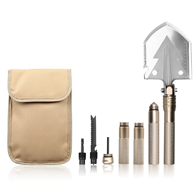 Amazon.com: OYISIYI Military Folding Shovel / Pick with ...