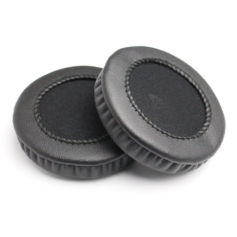 A Pair Black Ear Cushion Replacement Ear Pads Ear Cups For Sony MDR-V150 V250 V300 V100 V200 V400 DR-BT101 ZX100 ZX300 Headphones Headset 70MM