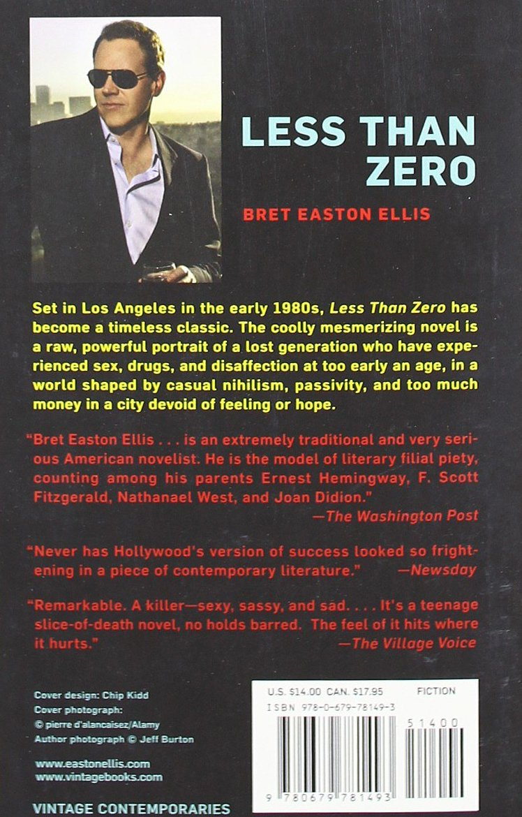 bret easton ellis the rules of attraction