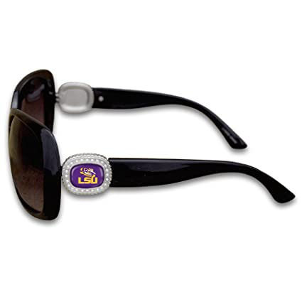 FTH LSU Tigers Chantilly Sunglasses Embelished with Rhinestone Logo