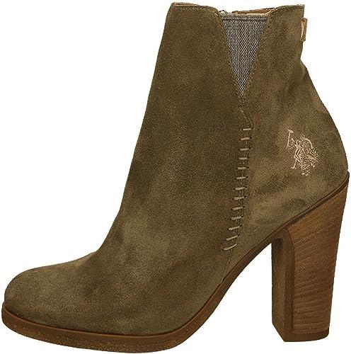 U.s. Polo Assn SCHAKIRA Botas Mujer Verde 40: Amazon.es: Zapatos y ...