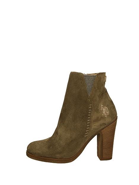 U.s. Polo Assn SCHAKIRA Botas Mujer Verde 40  Amazon.es  Zapatos y  complementos f1e607c9c78b2