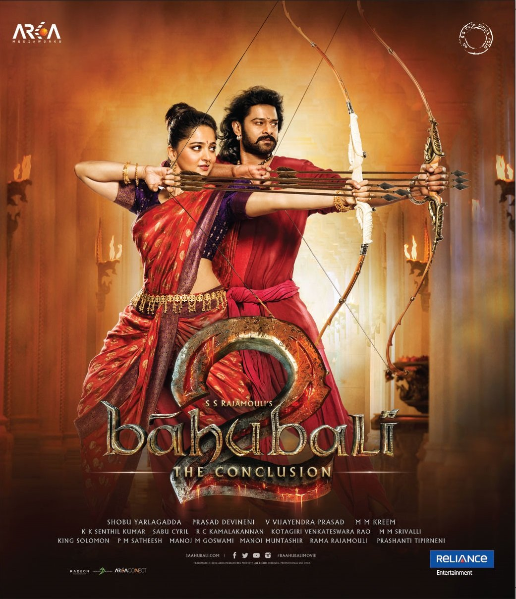 Amazon com: Baahubali 2 - The Conclusion Blu Ray With English