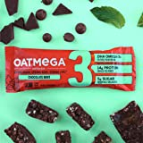 Oatmega Protein Bars, Chocolate Mint, Healthy
