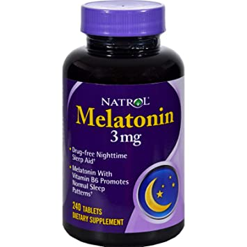 Image Unavailable. Image not available for. Color: Natrol Melatonin 3mg 240 Tablets