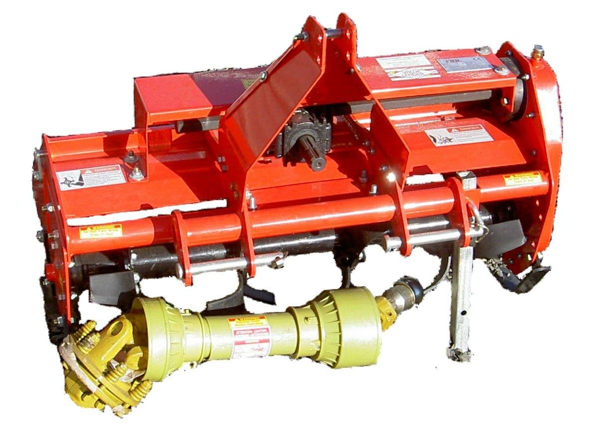 Value-Leader 37'' Adjustable Offset 3pt Rotary Tiller FH-TL95 Cat.I 3pt 16+hp ~Slip Clutch Driveline