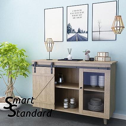 Amazon Smartstandard Mini Cabinet 5ft Sliding Barn Door
