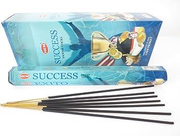 SUCCESS von HEM 20 Räucherstäbchen Original Indien Incense