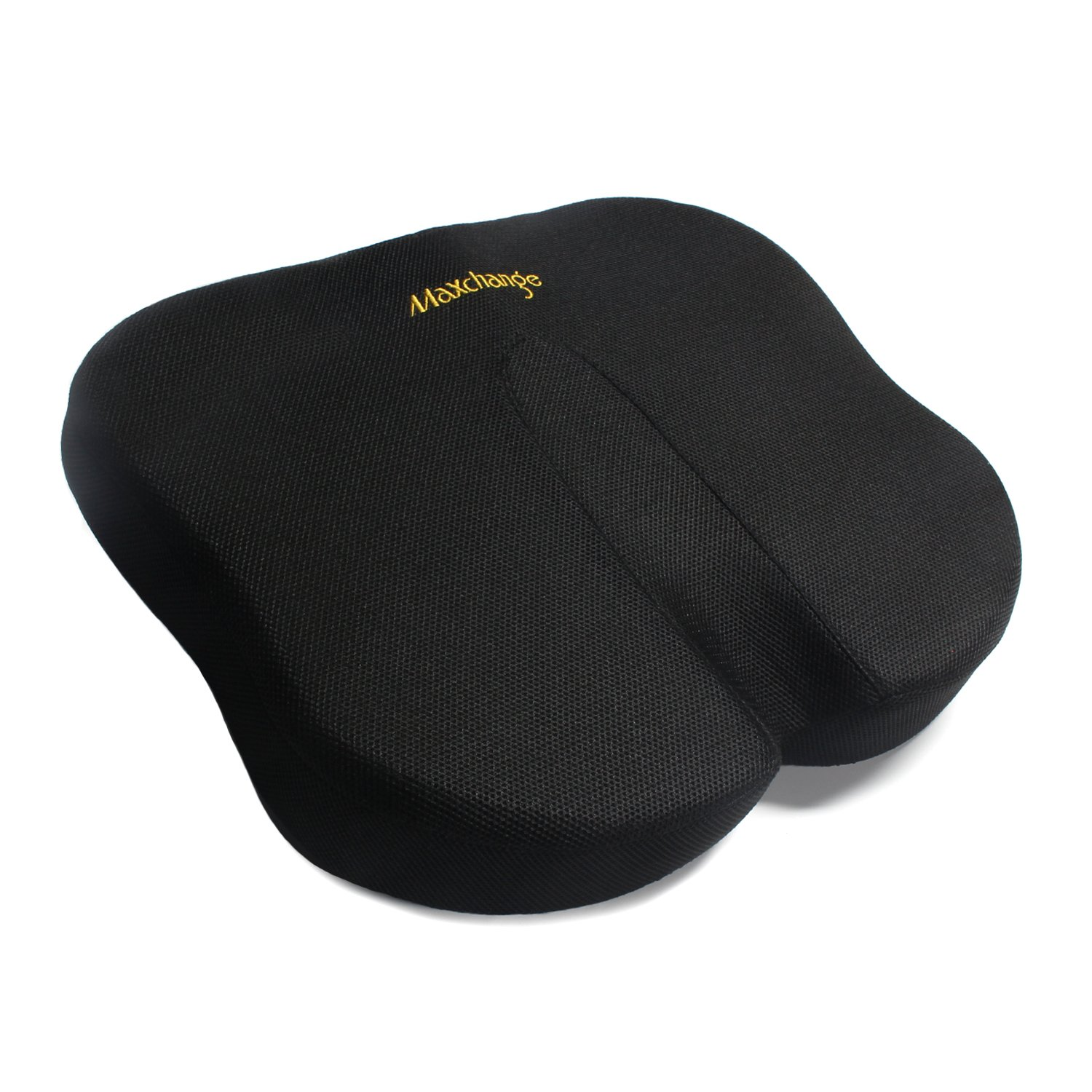 [Upgraded] Office Chair Seat Cushion, Maxchange 100% Pure Memory Foam Butterfly Shape Pad to Relieve Back, Sciatica and Tailbone Pain(Car/Wheelchair/Kitchen Chair Available)