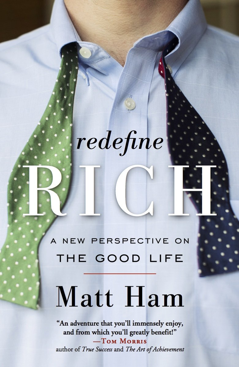 Read Online Redefine Rich: A New Perspective on the Good Life pdf
