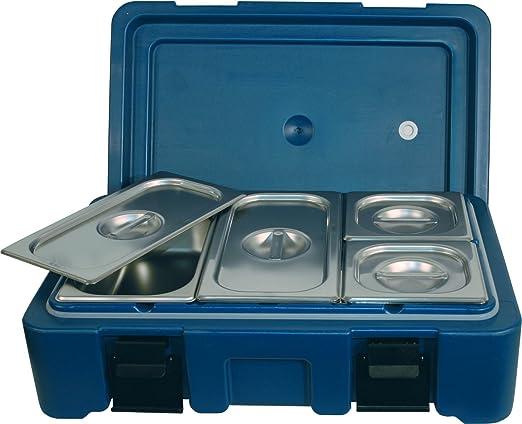 Thermo contenedores caja térmica para comida en un recipiente 1/1 Tamaño/altura 100 cm/ovillo de lana azul: Amazon.es: Hogar