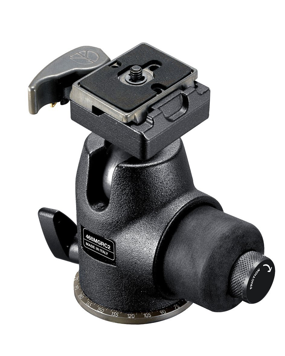Manfrotto 468MGRC2 Hydrostatic Ball Head with RC2 Rapid Connect System (3157N) by Bogen