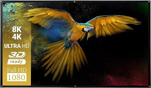 Celexon Basic Pantalla de proyección - 240 x 135 cm: Amazon.es ...