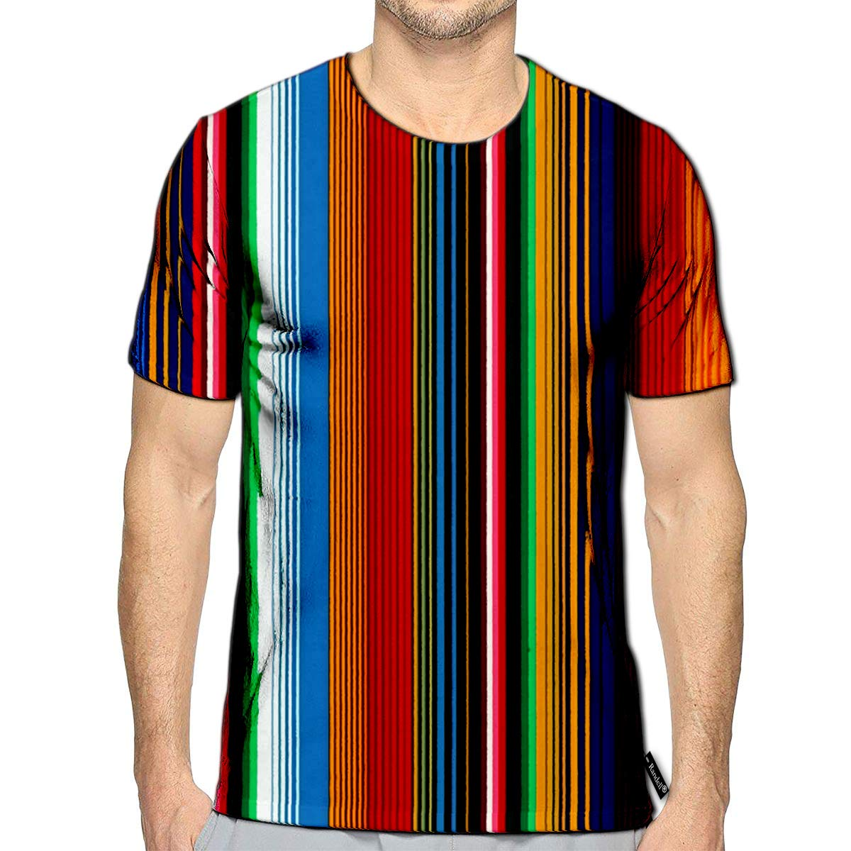 3D Printed T-Shirts Surfing Concept Vintage Style Short Sleeve Tops Tees