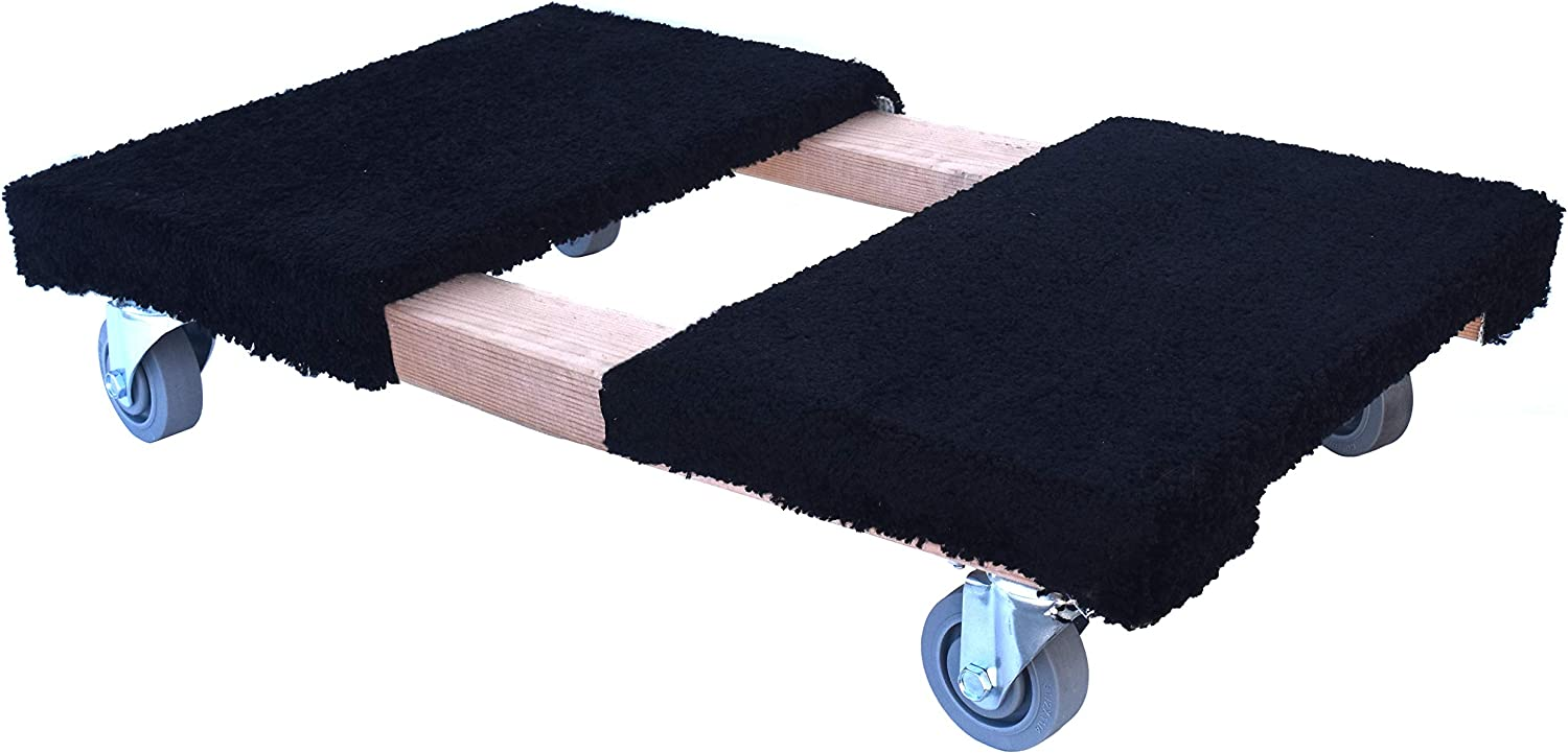 """Forearm Forklift CD-C35 Pro Grade Heavy Duty Moving Dolly with Carpeted Top 