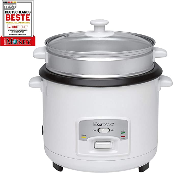 Clatronic RK 3566 Arrocera, capacidad 3 litros para 2,5 kg arroz ...