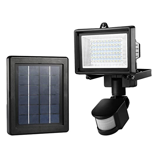Le 60 led solar flood light outdoor pir motion sensor security le 60 led solar flood light outdoor pir motion sensor security light waterproof high mozeypictures Gallery