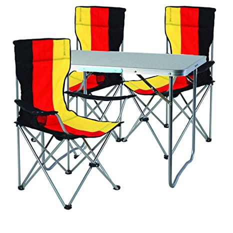 Mojawo 4 Piezas. Juego de Muebles de Camping (Aluminio, 80 x ...