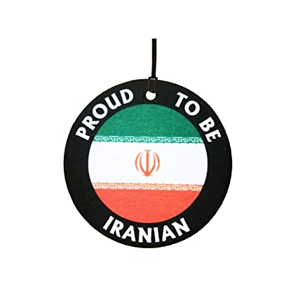 cc5cd74f3 Amazon.com: Proud to Be Iranian Car Air Freshener: Automotive