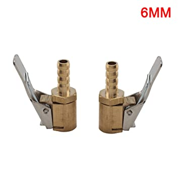 8mm Hebelstecker Autoventil Momentstecker Ventilaufsatz Messing Chrom JUEYAN 2X Ventilstecker 6mm 6 MM
