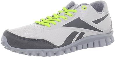 684ababd1 Reebok Men's Realflex Optimal 3.0 Running Shoe,Zinc Grey/Gravel/Flat Grey/