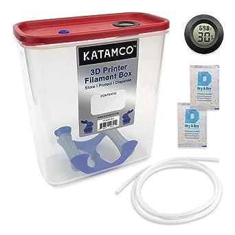 Amazon.com: Caja de filamento para impresora 3D, dispensador ...