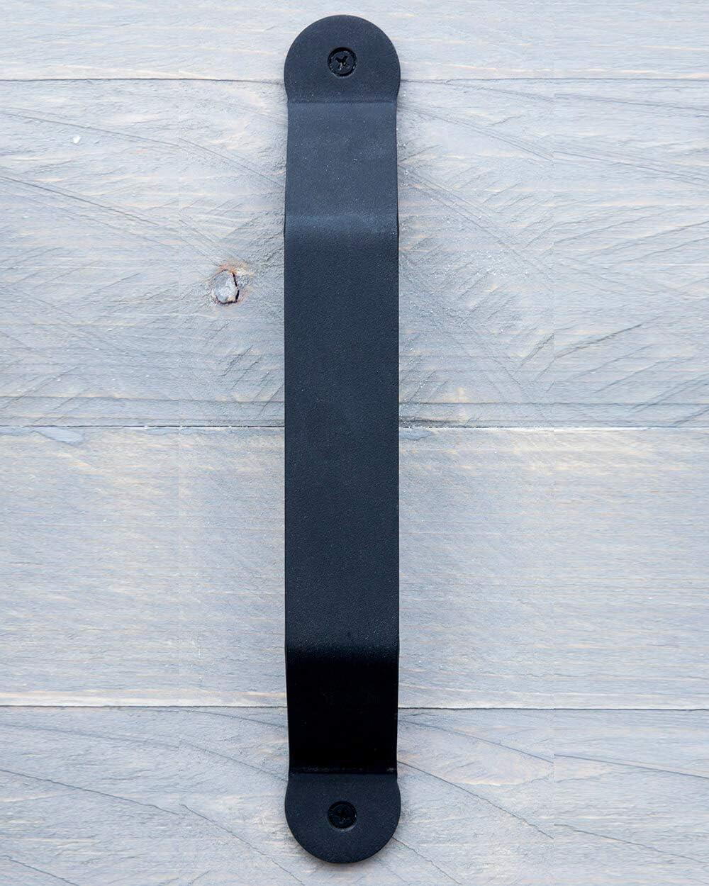 Tirador de puerta Cleveland, color negro, de acero inoxidable con recubrimiento de polvo negro.: Amazon.es: Bricolaje y herramientas