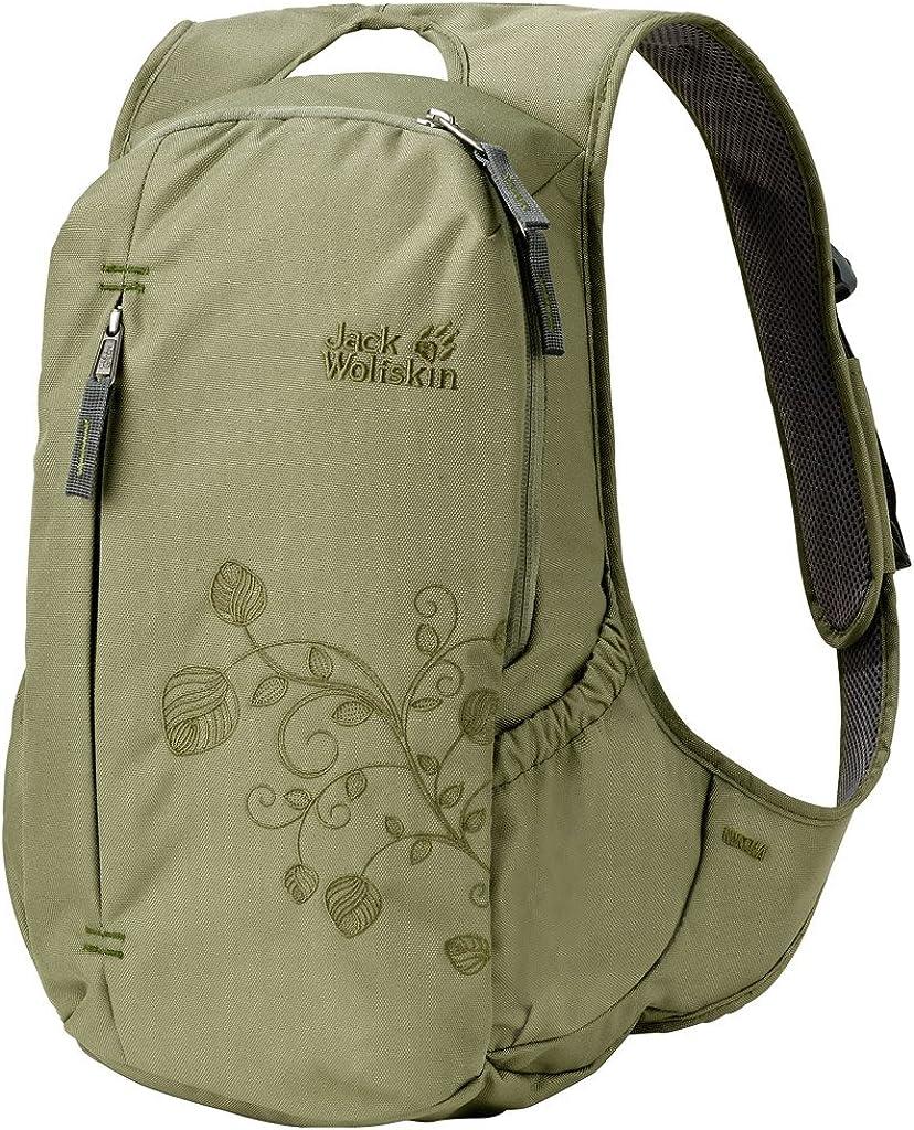 Jack Wolfskin Herren Ancona Daypack Rucksack, Leaf Grey, 44x30x3 cm
