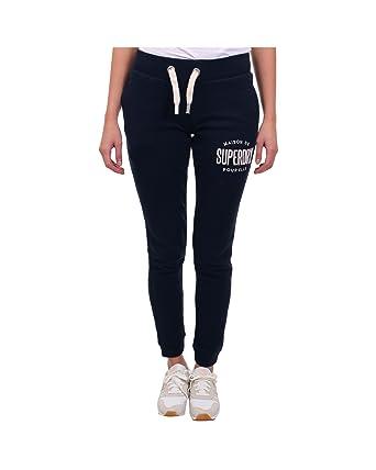 afde093ea936 Superdry G70021PP Pantalon Femmes Bleu Xl  Amazon.fr  Vêtements et ...
