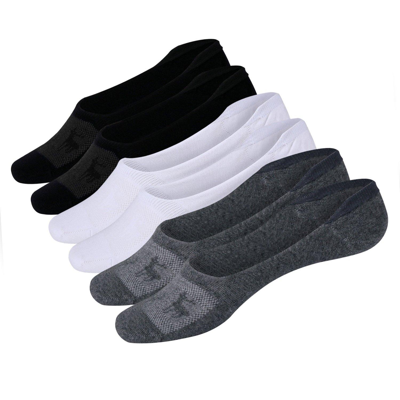 Women's No Show Socks Low Cut Casual Cotton Non Slip Invisible Flat Boat Liner