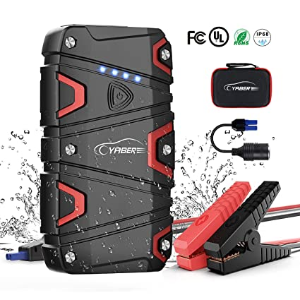 Safe Auto Phone Number >> Jump Starter Car Battery Jump Starter With 1200a Peak 15000mah For 7 5l Gas And 6l Diesel 12v Ip68 Waterproof Ul Certified Safe Auto Portable Car Jump