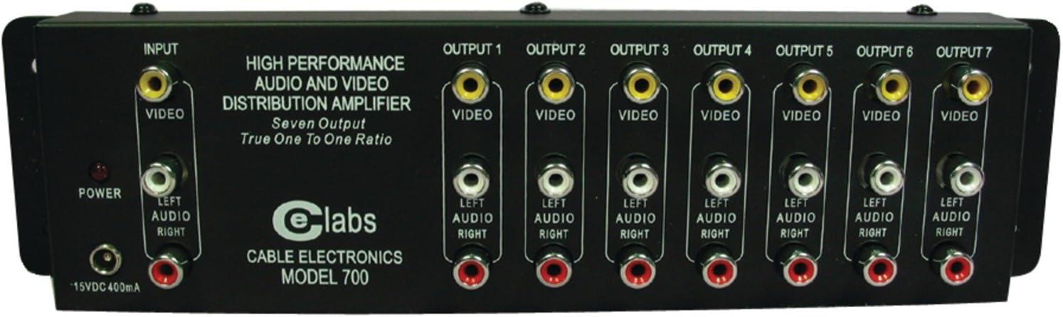Cable Electronics Labs AV 700 Prograde Composite A//V Distribution Amplifier