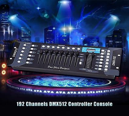 anoralux 192ch master 240 scenes dmx 512 controller board dj stage