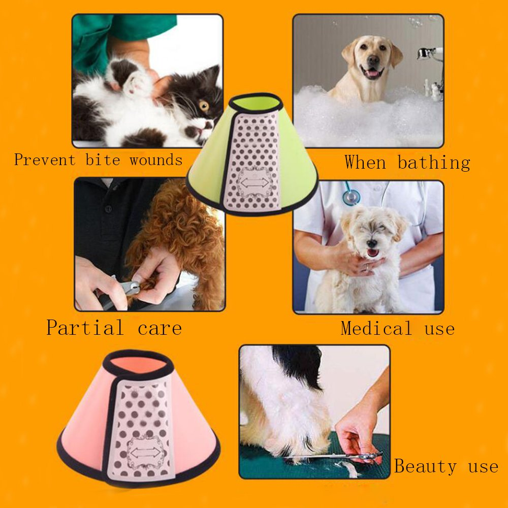 A9//A8//A7//A6//A5//A4//A3//A2//A1 ,A6 ORPERSIST Kegel-Schutz-Kragen-Hundebiss-Verhinderung-Haustier-Schutz-Ger/ät-Katzen-Grooming-Schild-Abdeckung