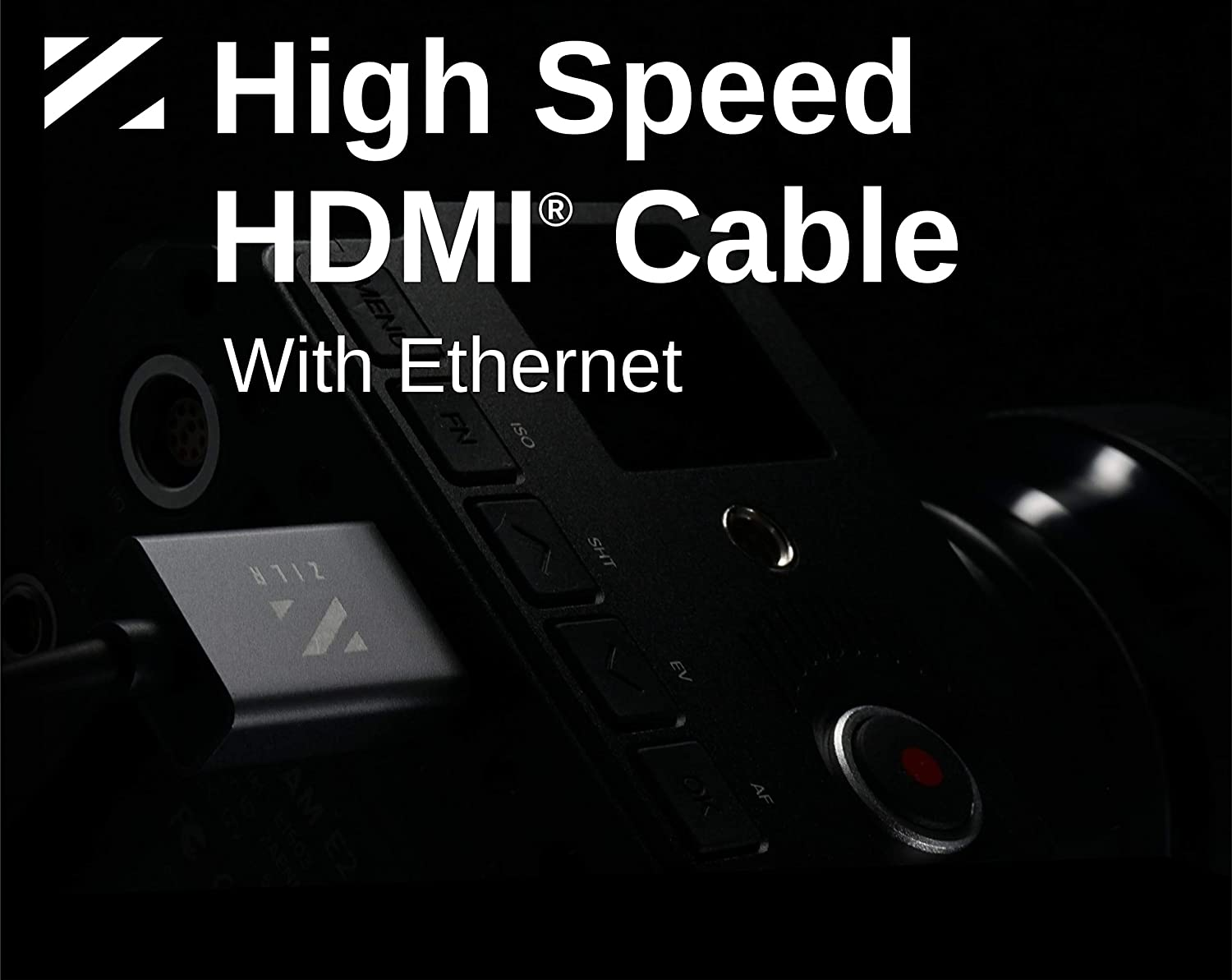 ZILR Ultra High Speed HDMI Cable 4K Ultra HD Ethernet HDMI Type A To Type D Micro HDMI Cable Ultra HDMI Cable 4K HDCP2.2 4K HDMI Camera HDMI Cable