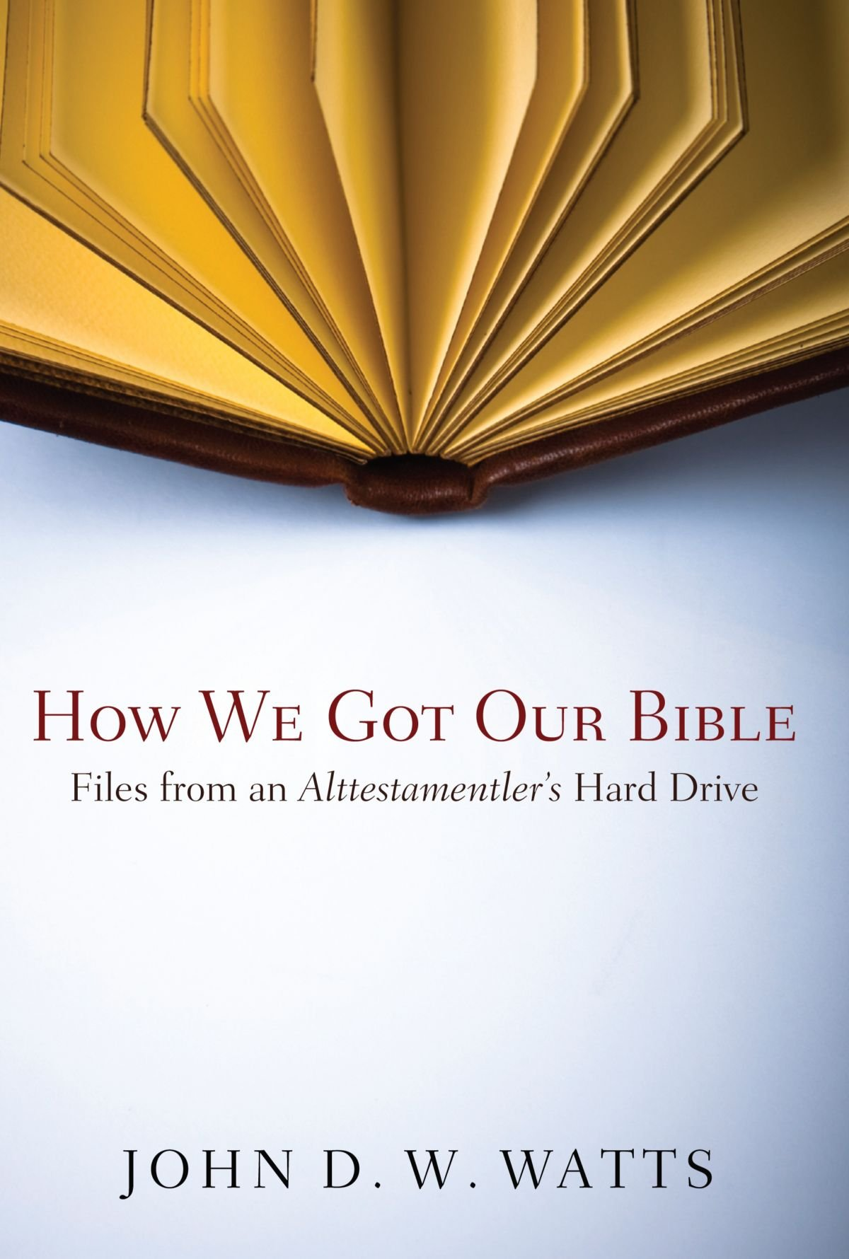 How We Got Our Bible: Files from an Alttestamentler's Hard Drive pdf epub