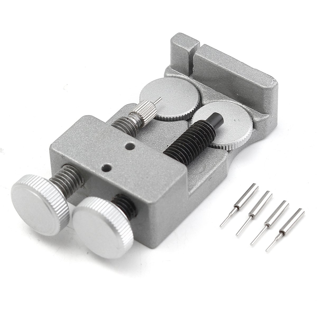 Baban Watch Band Strap Link Pin Remover Watch Repair Tool Strap Adjust Tool Metal for Watchmakers With 3 Extra Pins