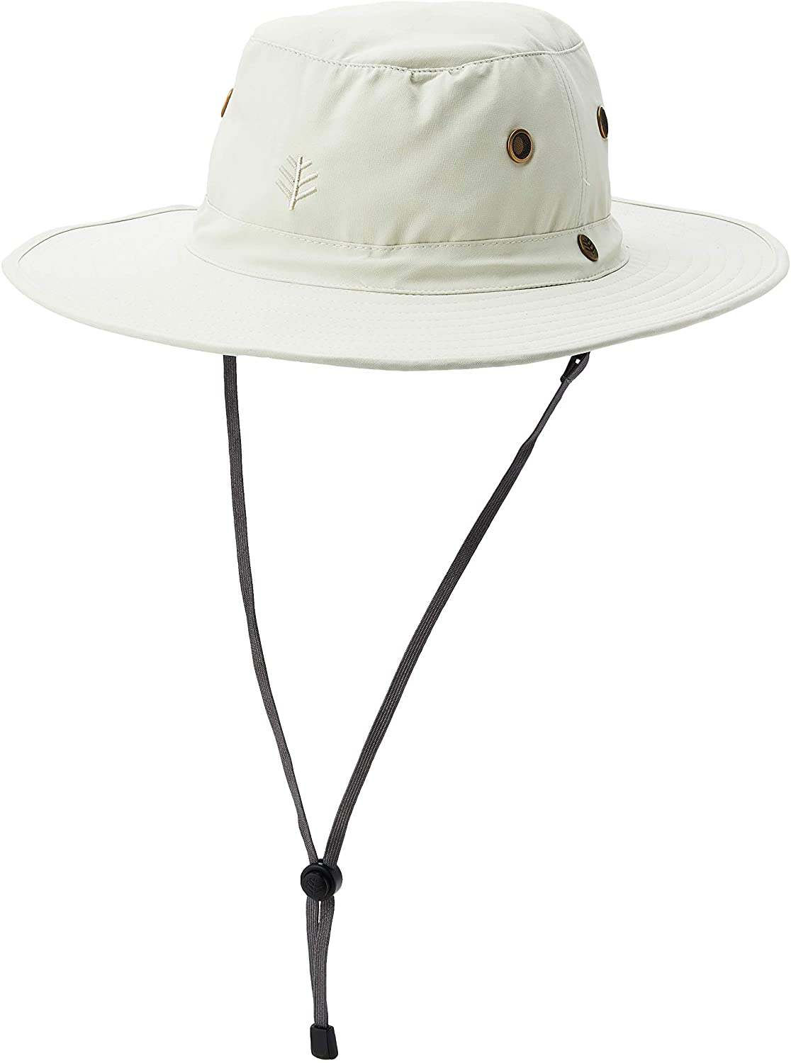 Coolibar UPF 50+ Men's Leo Shapeable Wide Brim Hat - Sun Protective