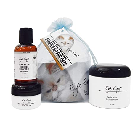 Amazon.com: Eye Envy gato Quitamanchas Tear Starter Kit ...