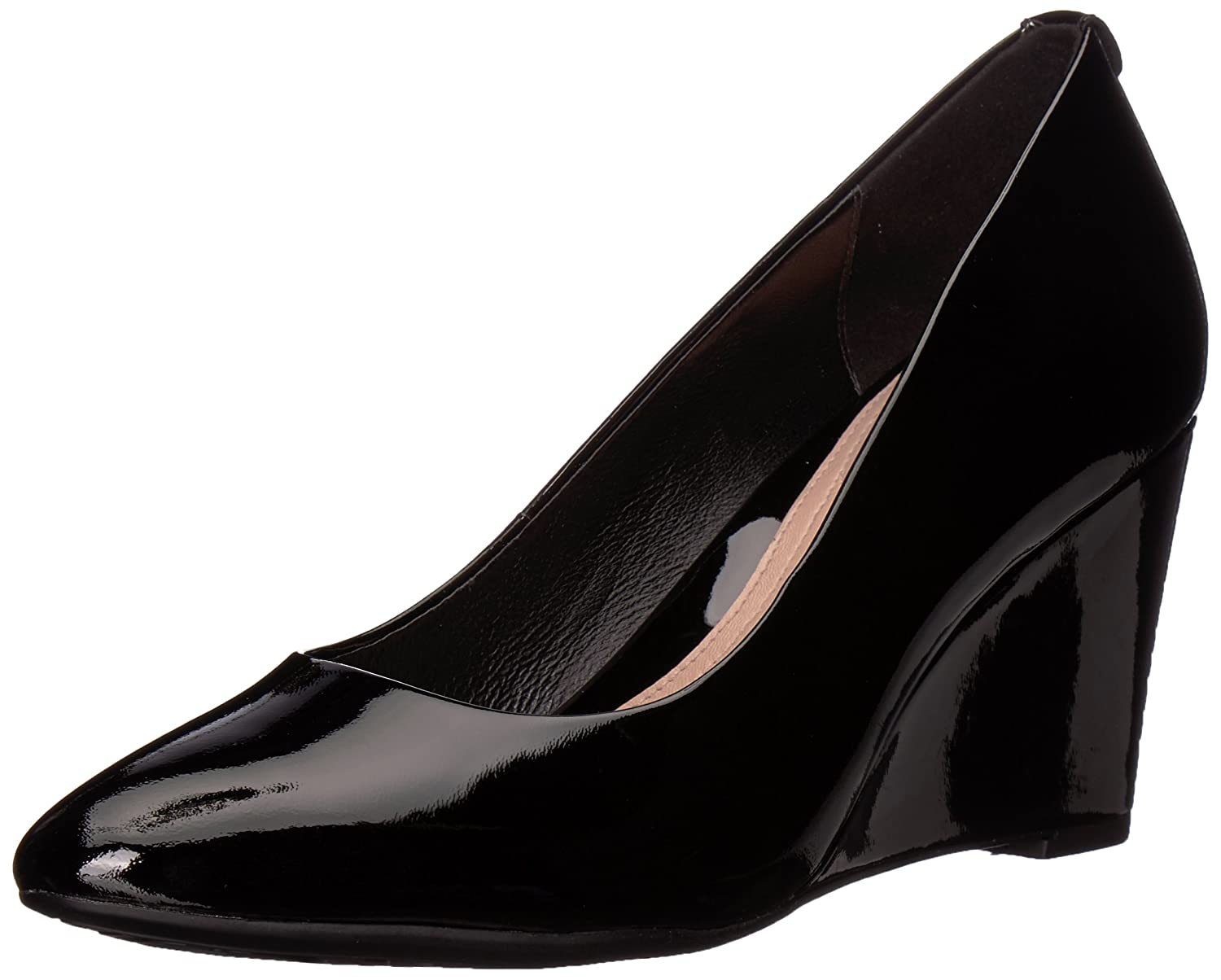 Taryn Rose Women's Ysabella Soft Patent Pump B074B5F732 7.5 M M US|Black