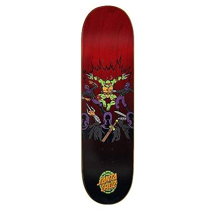Amazon.com : Santa Cruz TMNT Raphael Skateboard Deck ...