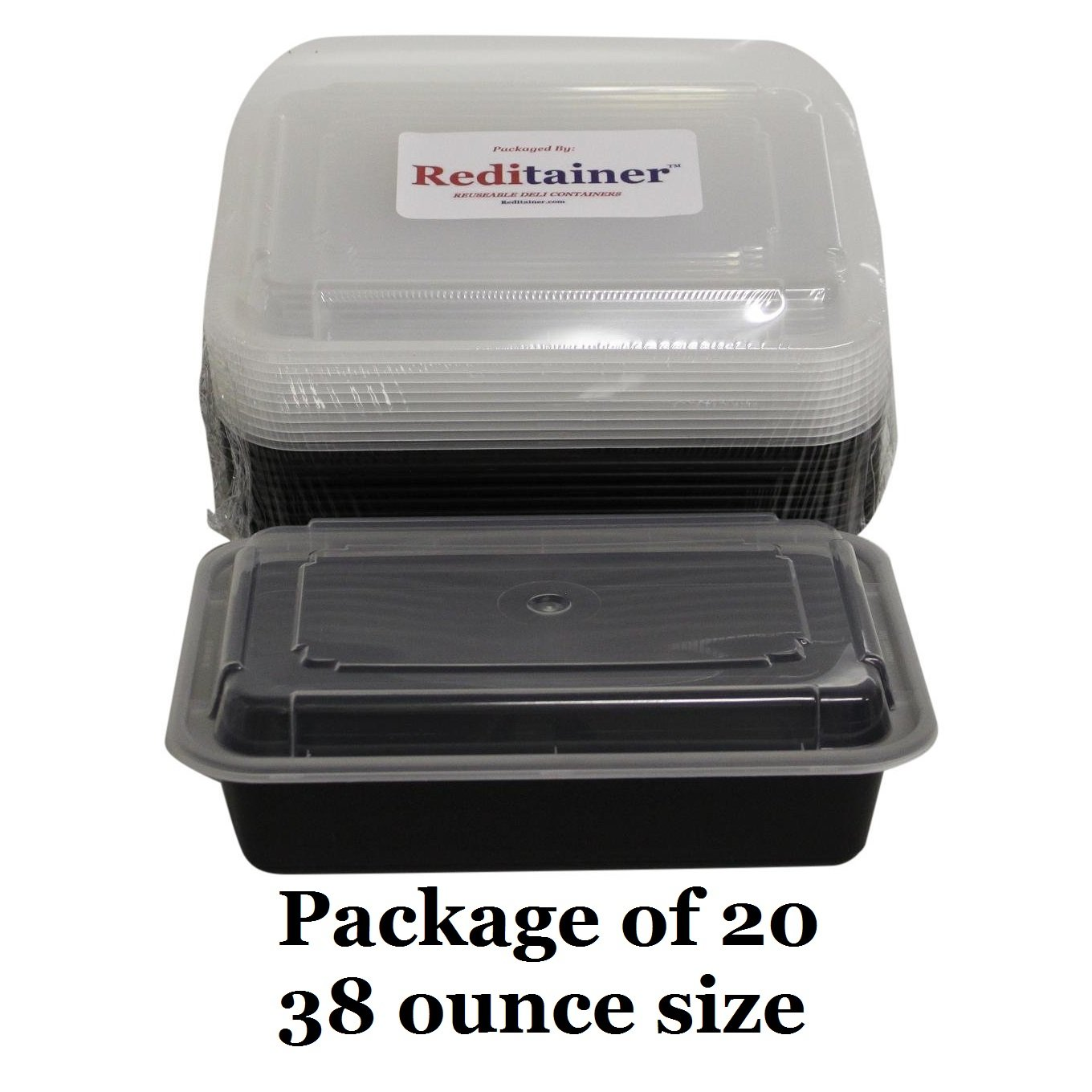 Amazoncom Reditainer Rectangular Food Storage Containers With - Compact grill containers