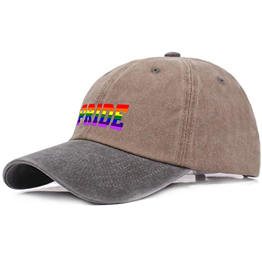 62b80cd976c08 LGBT Gay Lesbian Pride Baseball Hat Dad Cap Snapback Custom for Man ...