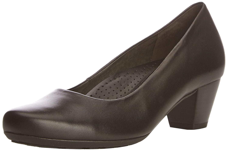 Gabriela Sabatini Brambling - Zapatos de tacón, color Brown Leather, talla 42