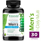 Emerald Laboratories - Men's Multi Vit-A-Min (1-Daily) - Complete Daily with CoEnzymes + Extra Zinc & Lycopene - 30 Vegetable Capsules