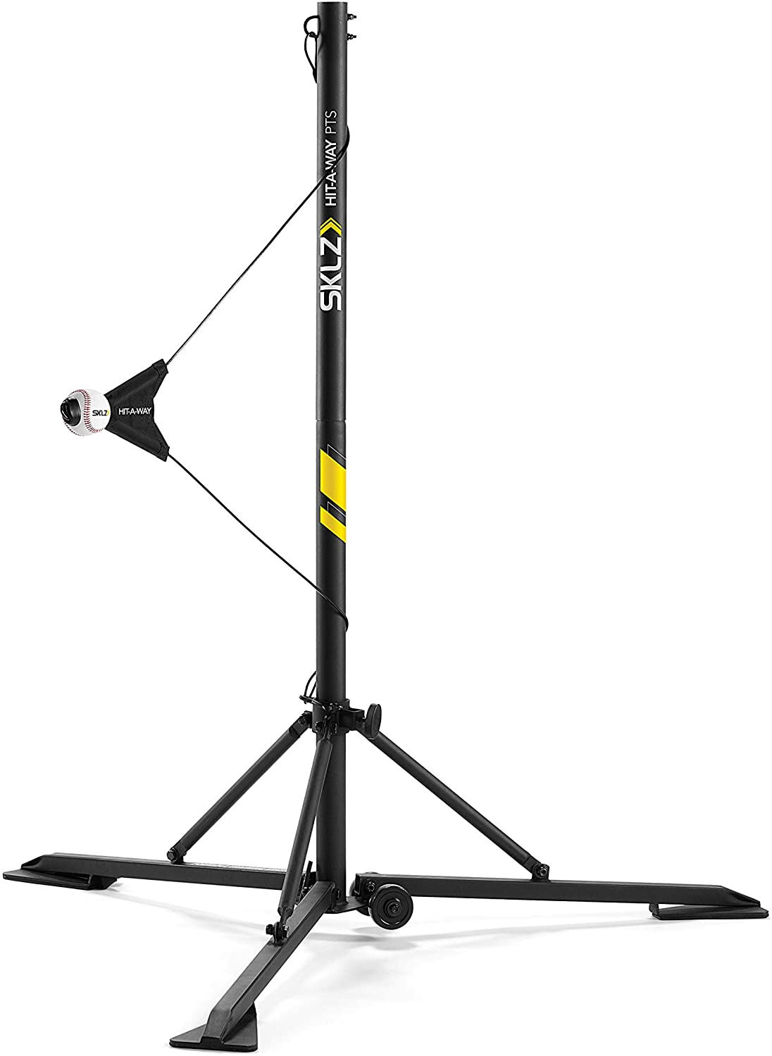 SKLZ Hit-A-Way Portable Baseball Training-Station Swing Trainer with Stand : Baseball Batting Trainers : Sports & Outdoors